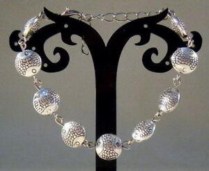 Hot-Handmade-Tibetan-Silver-Exquisite-Bracelet-A12