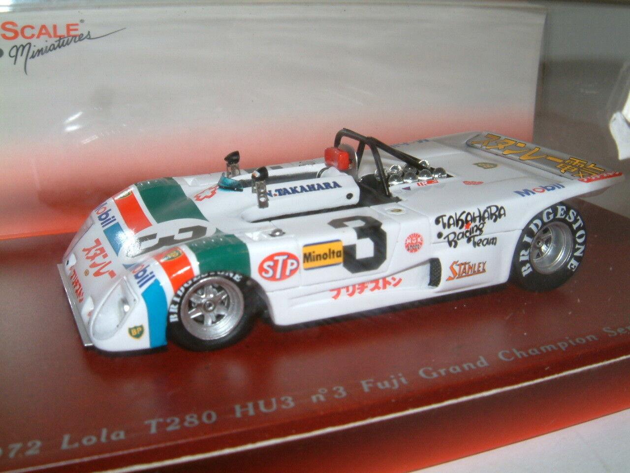 1 43 tsm lola T280 HU3  3, 1972, takahara, fuji grand champion