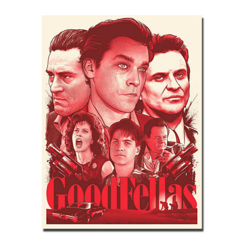 Goodfellas Movie Art Silk Canvas Poster Wall Decor 13x18/'/' 24x32/'/'
