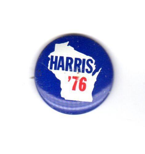 Harris /'76 Democratic for President Campaign Button