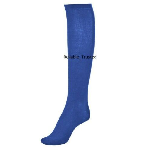 1//3//6 X Pairs Girls Women //Ladies Long Knee High Socks Fit to UK Size 4-6.5