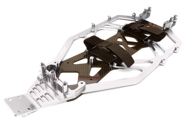 Integy T7826BLUE Alloy Rear Arm Mount for Associated GT2 aluminum upgrade