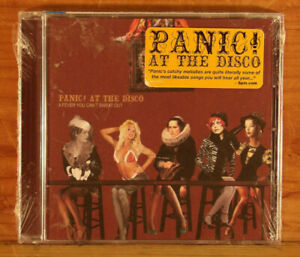 Panic-At-The-Disco-A-Fever-You-Can-039-t-Sweat-Out-w-Hype-CD-NOS-NEW-SEALED