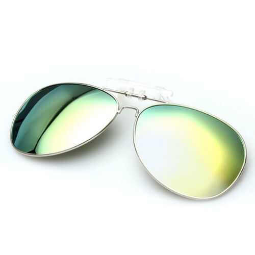 Polarisiert Sonnenbrillenaufsatz Clip on Mode Sonnenbrillen UV-Schutz Sunglasses