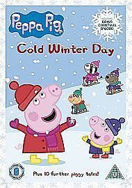 PEPPA-PIG-COLD-WINTER-DAY-PEPPA-CHRISTMAS-SPECIA-NEW-REGION-2-DVD