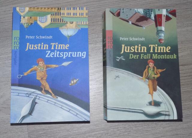Justin Time - Band 1 & 2: Zeitsprung / Der Fall Montauk (Taschenbücher)