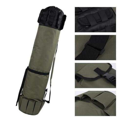 Rod Holdall Carp 123*34cm Fishing Bag Folding Padded Tackle Reel Storage Luggage