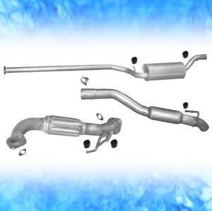 Mazda-3-BK-1-6-Di-80-KW-2003-2008-Schraegheck-Stufenheck-Auspuff-Abgasanlage-0375