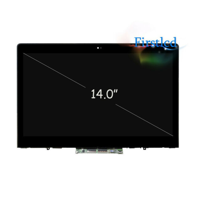 LCD Touch Screen Assembly+Bezel For Lenovo ThinkPad YOGA 14 20FY-0002US R90M7RGL