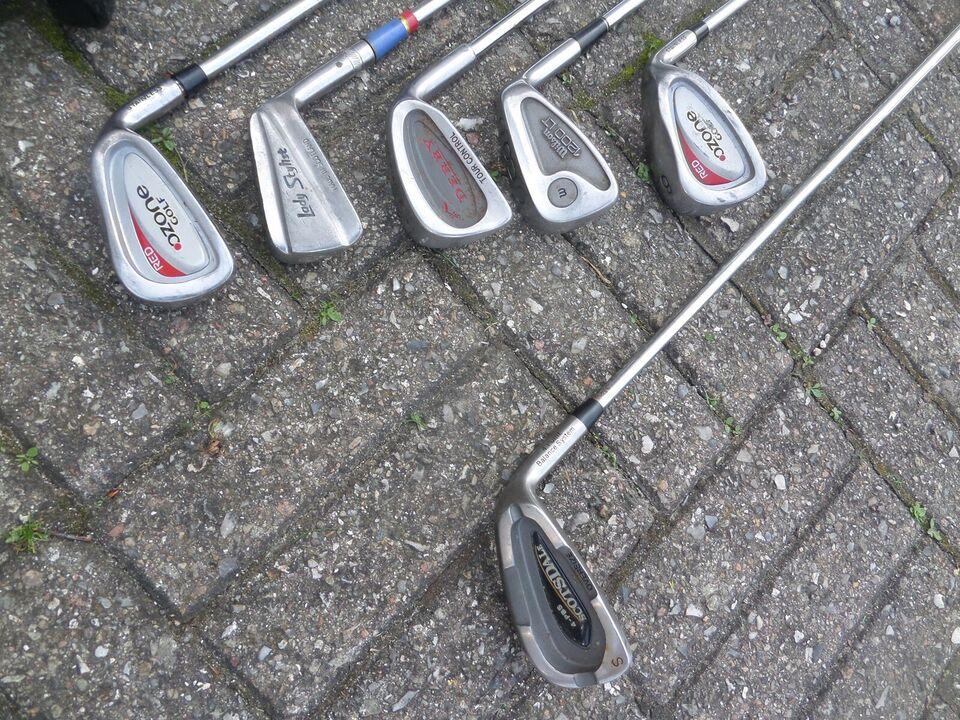 Herre golfsæt, stål