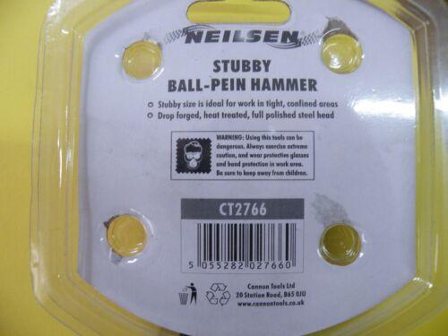 """environ 226.79 g NEILSEN 989 Balle Pein 6/"""" petits Stubby Court Poignée 8 Oz"""