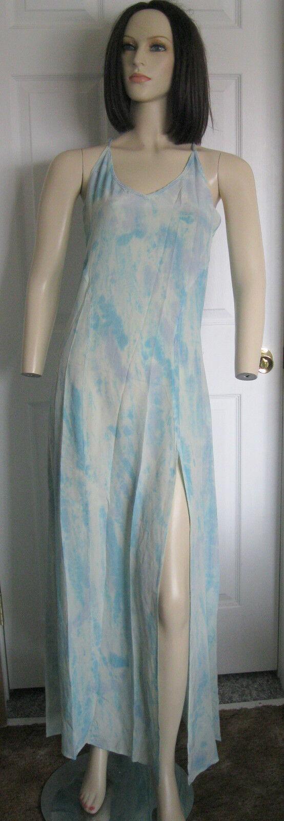 Gypsy 05 Gypsy05 Addie Racerback Silk Maxi Dress Blau lila XS, S, M, L
