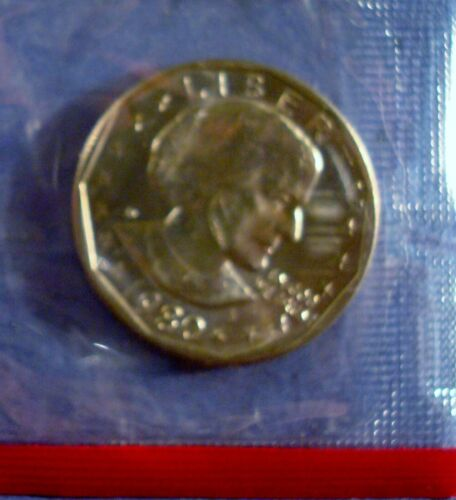 """ANTHONY DOLLAR FROM MINT SETS 1980-S UNCIRCULATED /""""S/"""" MINT ISSUE SUSAN B"""
