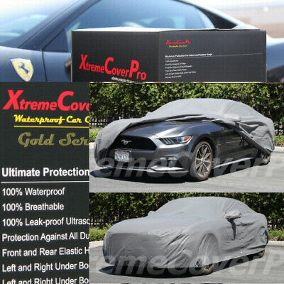 Ultimate Full Custom-Fit All Weather Protect FORD MUSTANG FASTBACK CAR COVER
