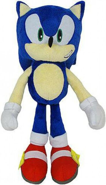 Sonic The Hedgehog 20th Anniversary Sonic 12 Inch Plush Classic For Sale Online