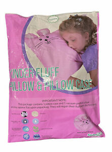 Toddler Pillow & Pillowcase - 100% Cotton Down Alternative Fill. Hypoallergenic