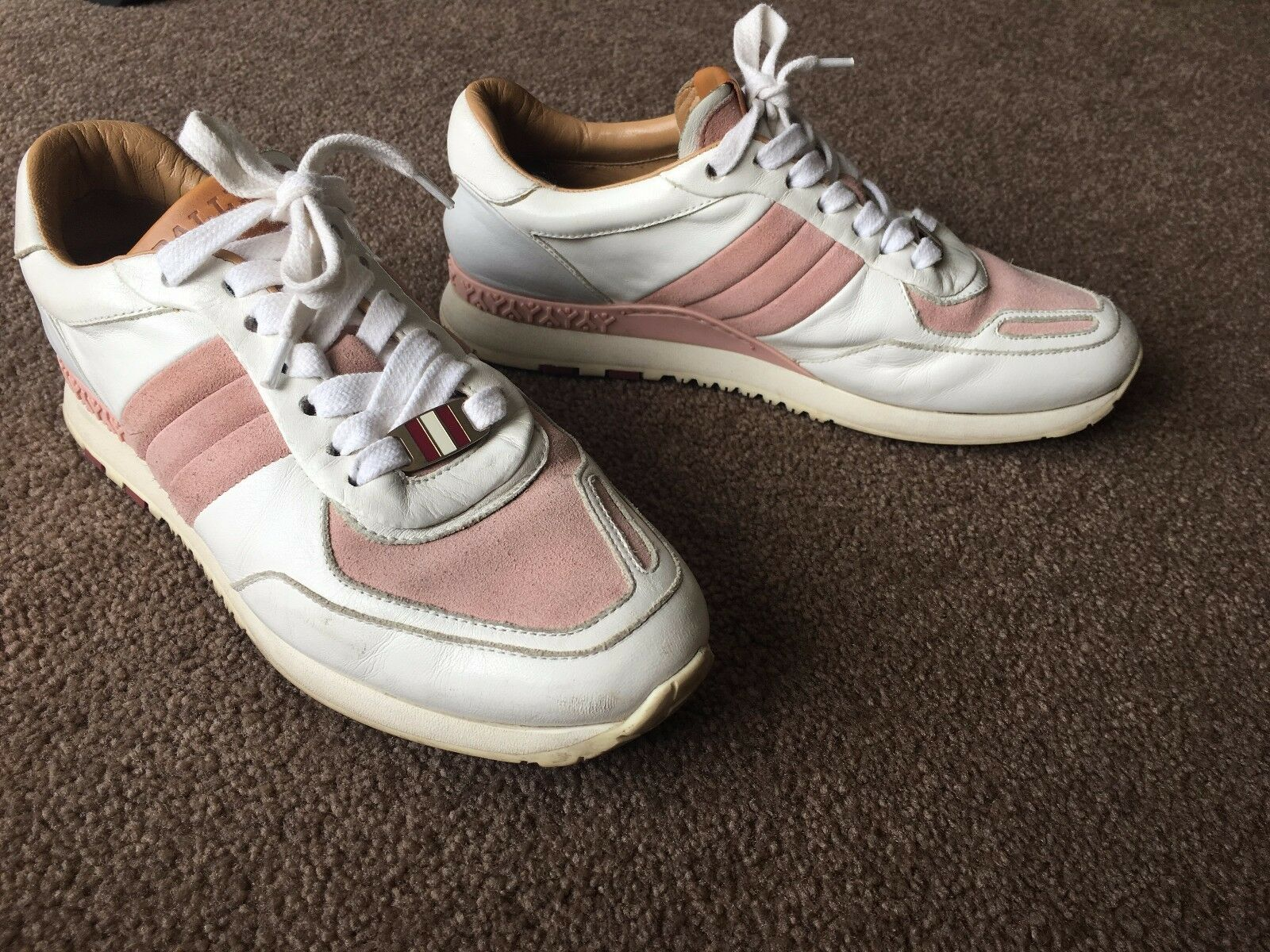 AUTH BALLY ASYIA SNEAKERS Sz 6 FITS Sz 6 US