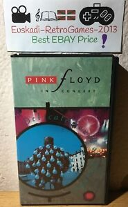 """PINK FLOYD IN CONCERT : DELICATE SOUND OF THUNDER"" VHS CINTA"