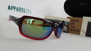ac81ce29f6 Image is loading New-Costa-del-Mar-Isabela-Polarized-Sunglasses-Pomegranate-
