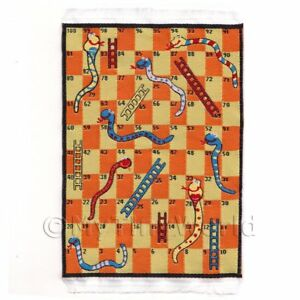 Image Is Loading Dolls House Miniature Small Childrens Rug With Snakes