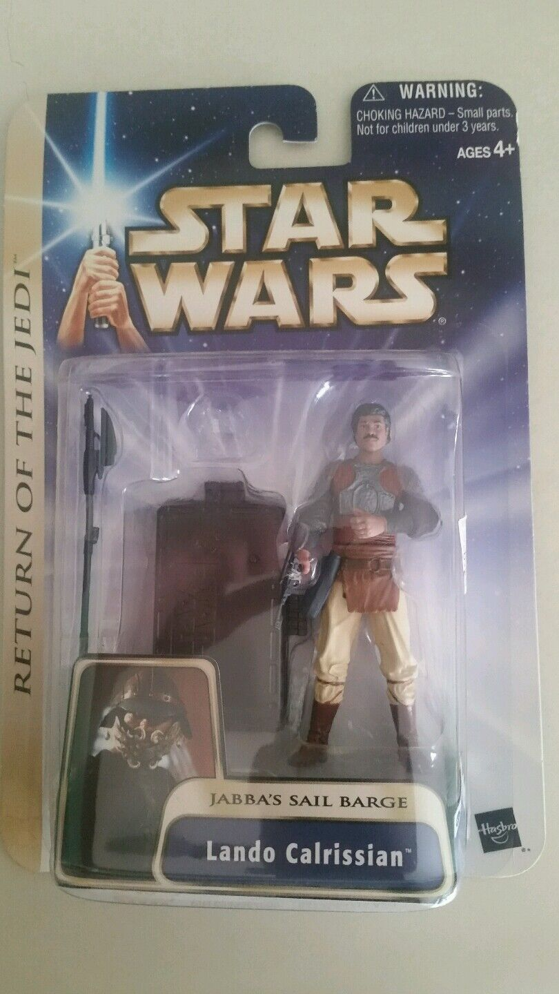 Lando Calrissian Skiff Guard factory error afa it star wars bespin