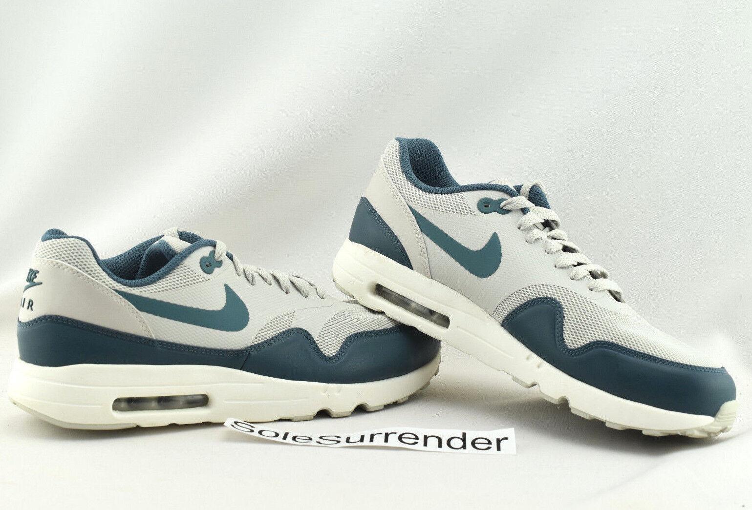 3402433ae4 Nike Max 1 Ultra 2.0 Essential SIZE 9.5 - 875679-004 bluee Jade Bone ...