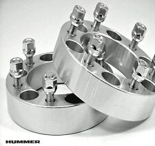 4 Pc HUMMER H3 WHEEL SPACERS WITH LUGS 2.00 Inch # 6550E1215-4