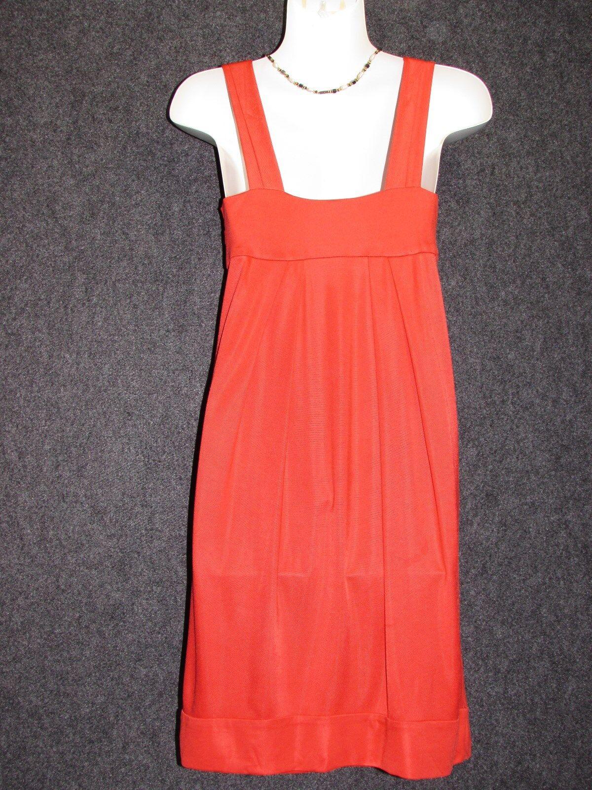 DIANE Von FURSTENBERG Poppy Red Sleeveless Dress Dress Dress SZ 0 c499b2
