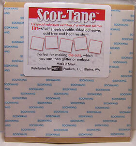 5-Scor-Tape-Double-Sided-Adhesive-Sheets-6x6-Acid-Free-Heat-Resistant