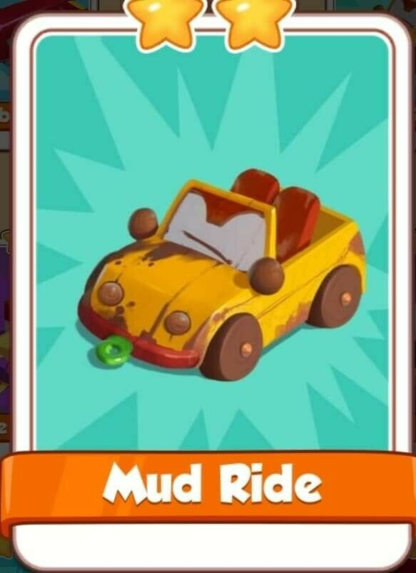 Mud Ride Card from Toys Set Coin Master Cards!!!