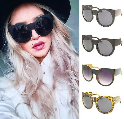 2e1adfe4a Details about Summer Womens Sunglasses Ladies Cat Eye Retro Vintage  Celebrity Wayfare UV400