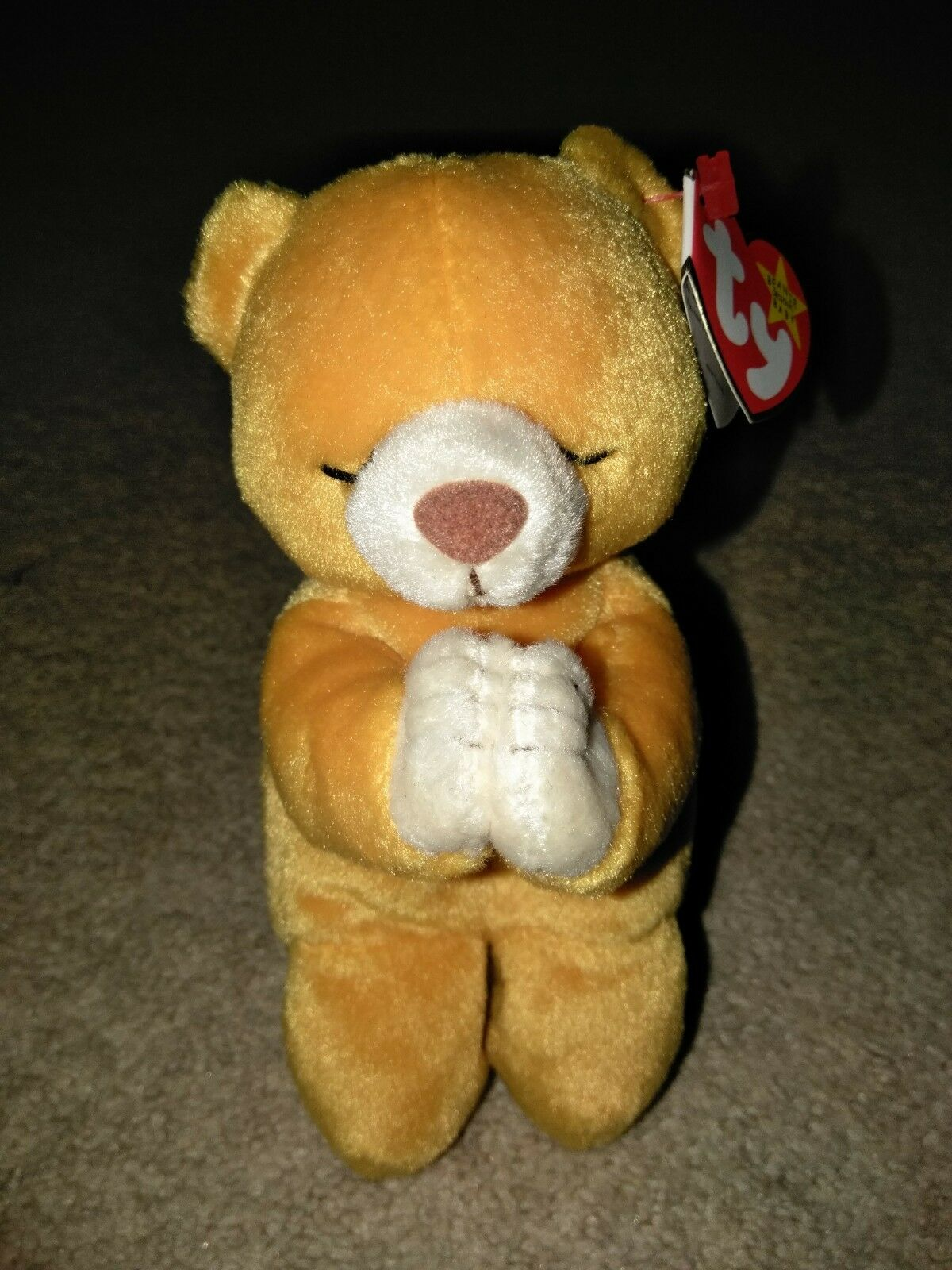Ty Ty Ty beanie baby Hope with mutiple tag errors 24e364