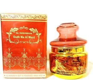Oudh Ma al Ward by Al Halal (Al Haramain) Home / Hallway Fragrance / Incense 50g