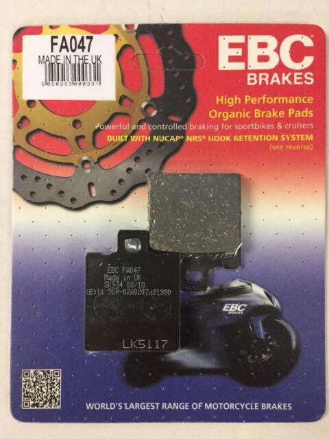 EBC FA047 Organische-Bremsbeläge für Ducati