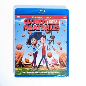 CLOUDY WITH A CHANCE OF MEATBALLS BLU-RAY + DVD