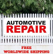 Banner Vinyl Automotive Repair Advertising Sign Flag Car Auto Service Many Sizes