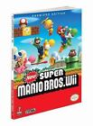 New Super Mario Bros (Wii) : Prima Official Game Guide by Prima Games Staff and Fernando Bueno (2009, Paperback)