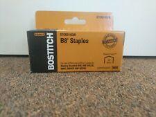 1,000 Per Box Bostitch EZ Squeeze  130 Sheet B8  PowerCrown  Staples for Bostitch B8130 STCR130XHC