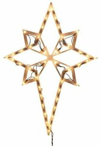 impact innovations christmas lighted window decoration star of bethlehem