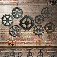 Vintage Gear Wandbehang industrielle antike Kunst Home Bar Cafe Ornamente Dekor