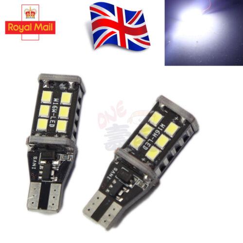 T10 CAR BULBS LED ERROR FREE CANBUS 5 SMD XENON WHITE W5W 501 SIDE LIGHT BULB UK