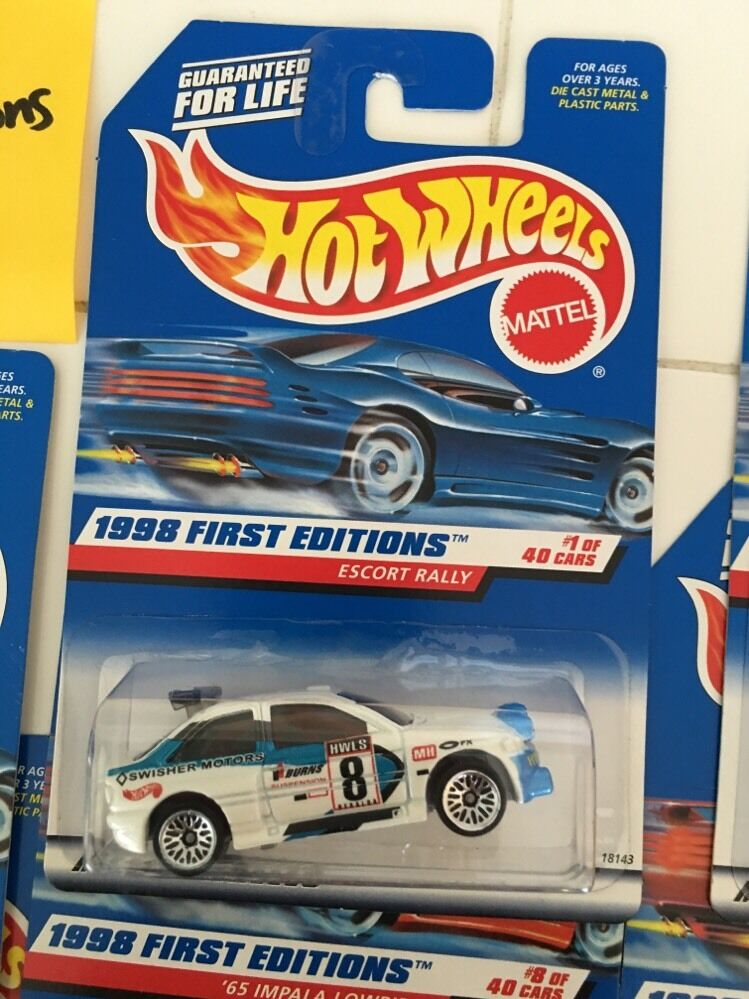 Hot Wheels 1998 First Editions Lot Of Of Of 34 Cars NEW-- 008 6c5d77