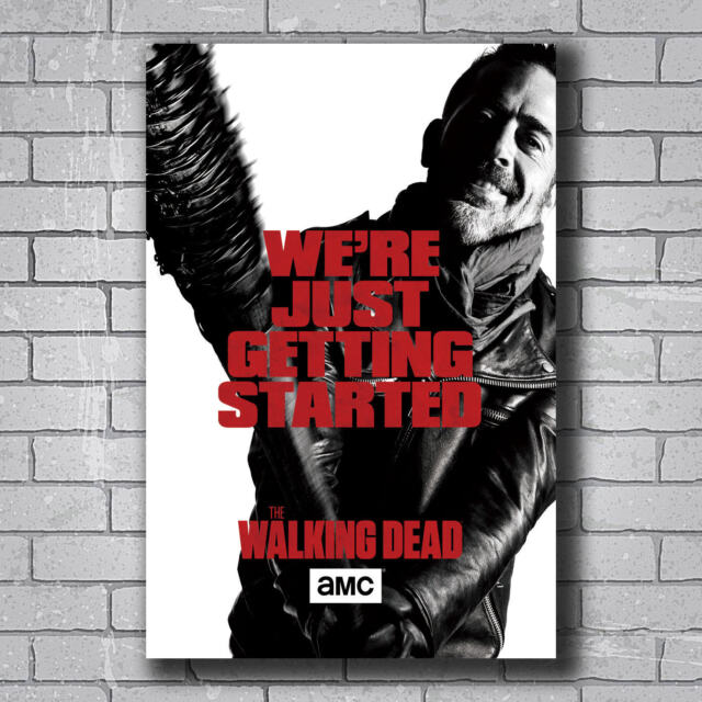 CHARACTERS COLLAGE NEW Walking Dead Poster The Walking Dead Poster