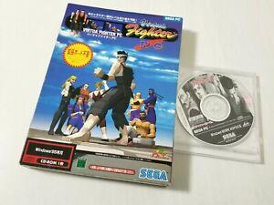 Sega PC Windows 95 Virtua Fighter 1 & 2 Japan 0314A27