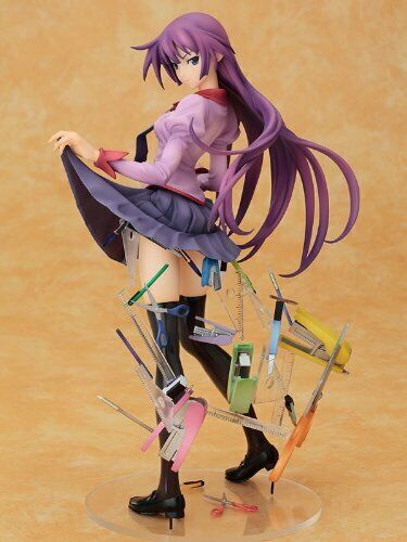 Senjougahara Hitagi Bakemonogatari stationery Figure Good Smile Authentic FS