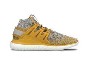 {BB8407} Adidas Tubular Nova PK Primeknit Yellow Granite *NEW*