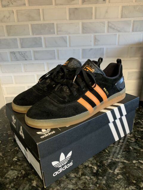 Details about Palace X Adidas Indoor Shoes Black & White Size 8 Mens