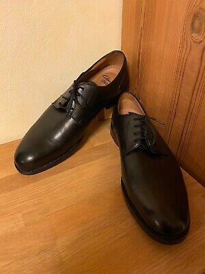 Clarks Coling Walk Black Leather US 11 UK 10 EU 44,5 Leder Schwarz Schuhe | eBay