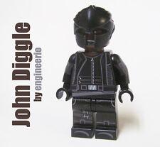 LEGO Custom - John Diggle - Super heroes DC Arrow spartan mask mini figure