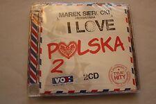 Marek Sierocki Przedstawia  I love Polska vol 2  2CD POLISH RELEASE - NEW SEALED
